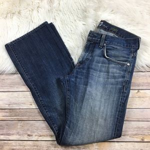 7 For All Mankind Jeans Brett Mens 31x31 Ripped